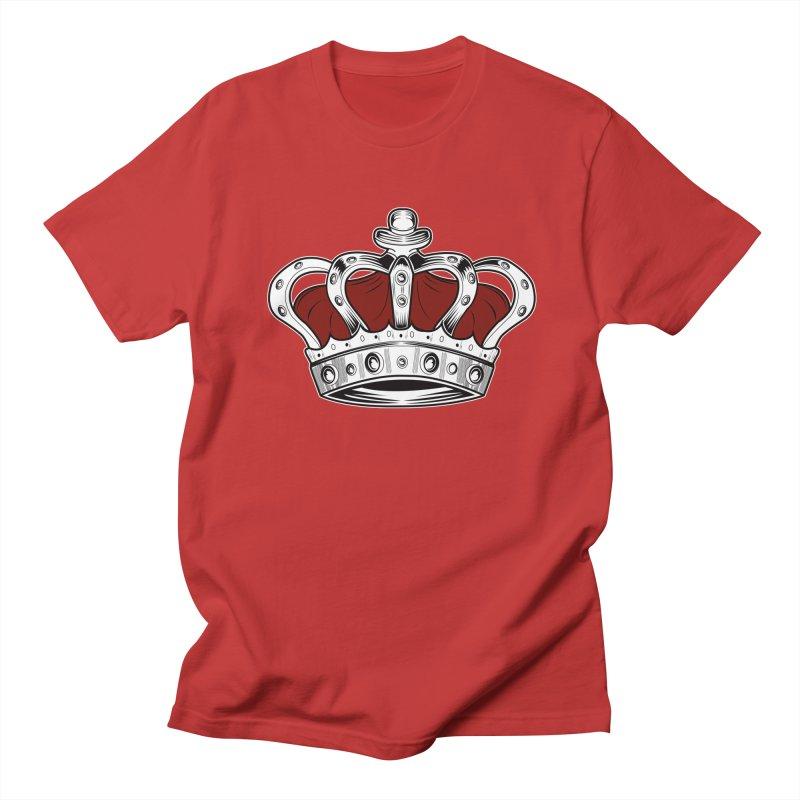 Crown - Red Women's Unisex T-Shirt by adamzworld's Artist Shop