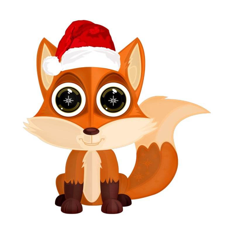Christmas Fox by adamzworld's Artist Shop