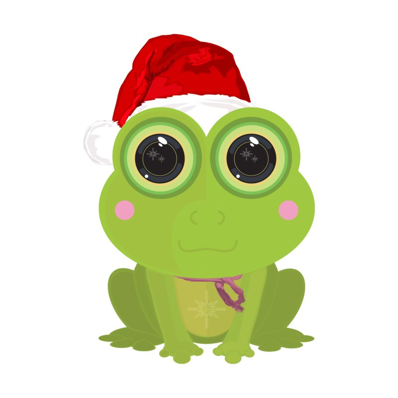 Christmas Frog by adamzworld's Artist Shop