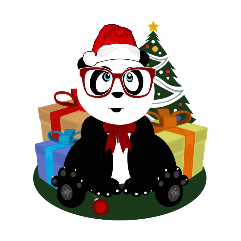 Christmas - Panda Nerd by adamzworld's Artist Shop