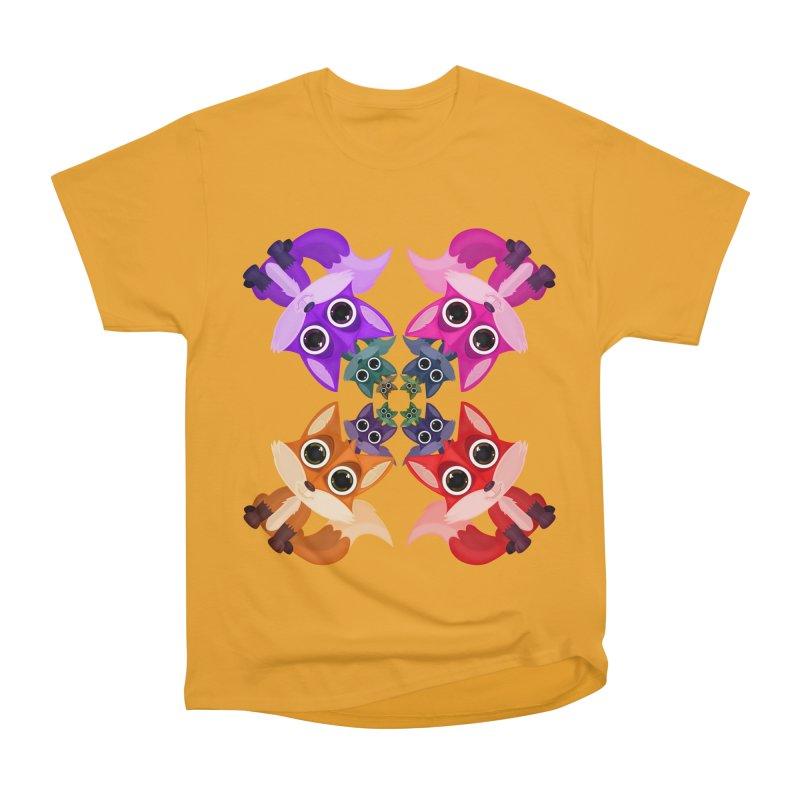 Fox Crowd Women's Heavyweight Unisex T-Shirt by adamzworld's Artist Shop