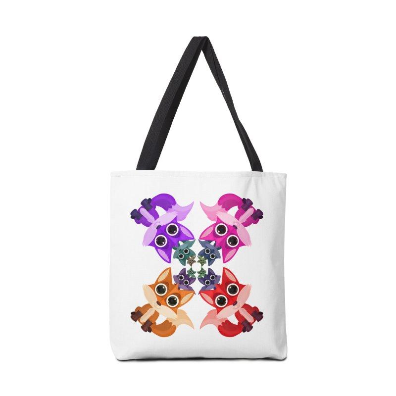 Fox Crowd Accessories Bag by adamzworld's Artist Shop