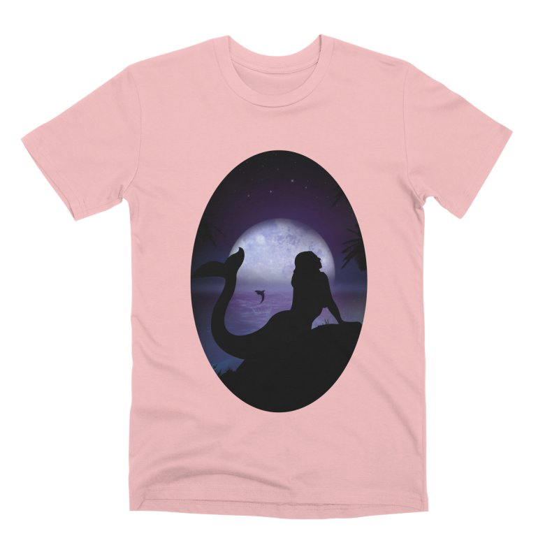 Mermaid Men's Premium T-Shirt by adamzworld's Artist Shop