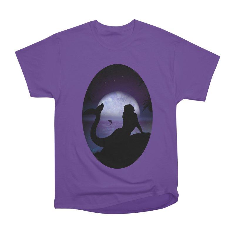 Mermaid Men's Heavyweight T-Shirt by adamzworld's Artist Shop