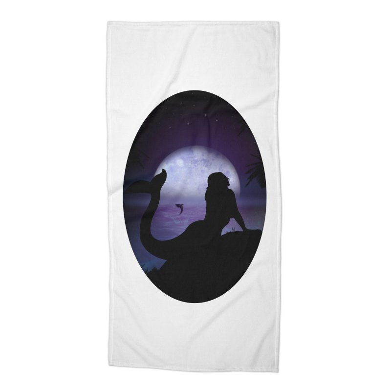 Mermaid Accessories Beach Towel by adamzworld's Artist Shop