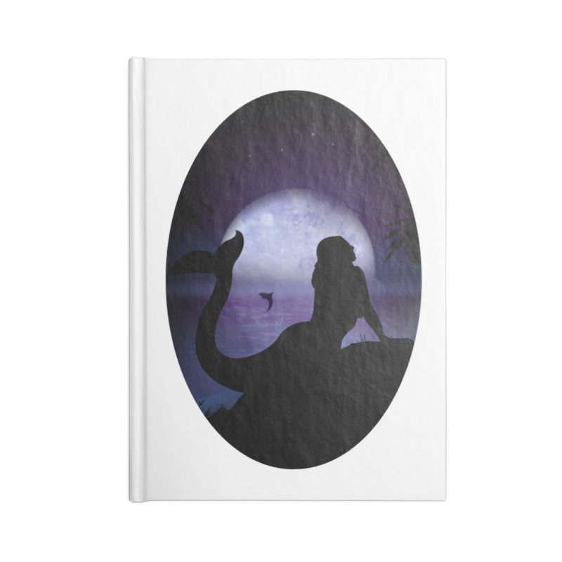 Mermaid Accessories Notebook by adamzworld's Artist Shop