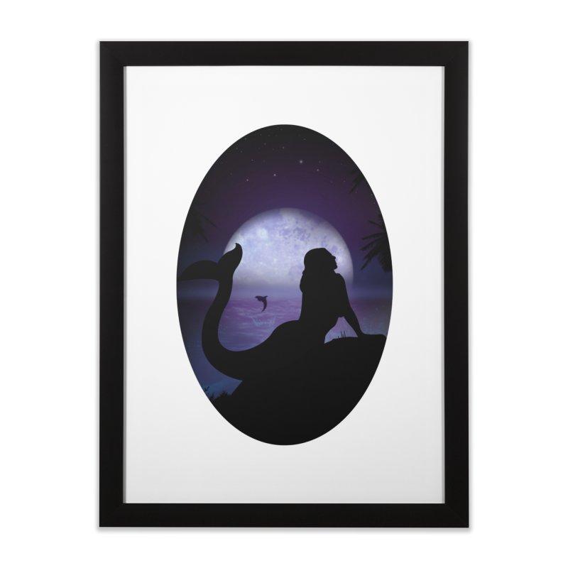 Mermaid Home Framed Fine Art Print by adamzworld's Artist Shop