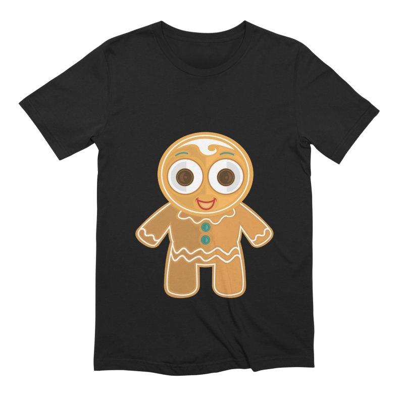 Ginger Bread Man Men's Extra Soft T-Shirt by adamzworld's Artist Shop