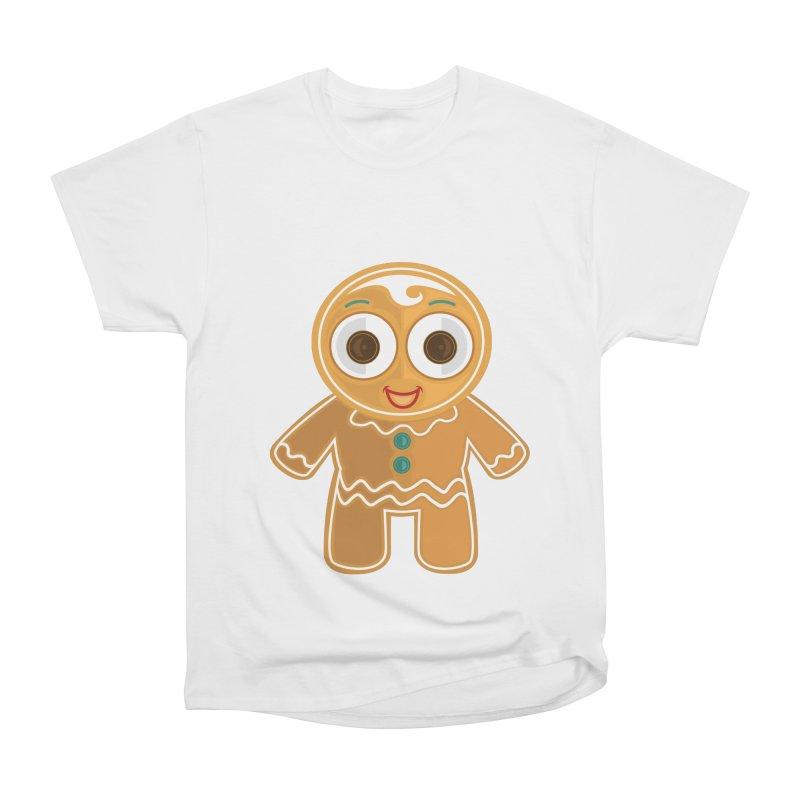Ginger Bread Man Men's Heavyweight T-Shirt by adamzworld's Artist Shop