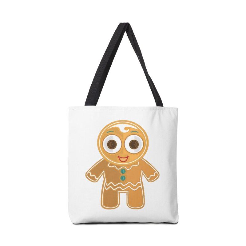 Ginger Bread Man Accessories Bag by adamzworld's Artist Shop