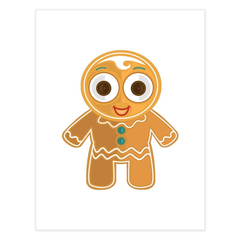 Ginger Bread Man Home Fine Art Print by adamzworld's Artist Shop