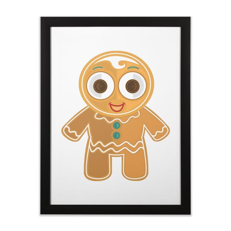Ginger Bread Man Home Framed Fine Art Print by adamzworld's Artist Shop
