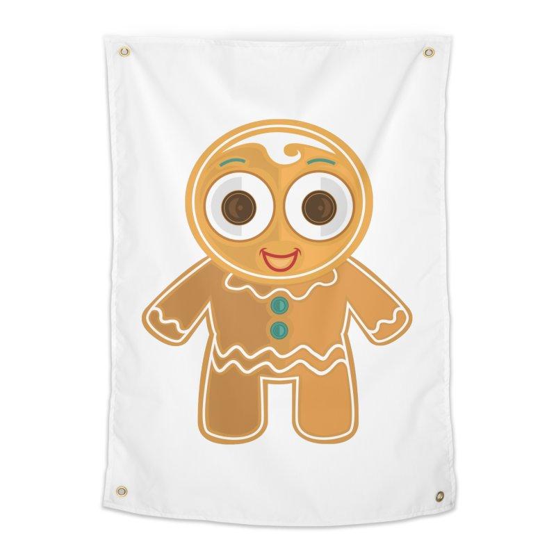 Ginger Bread Man Home Tapestry by adamzworld's Artist Shop
