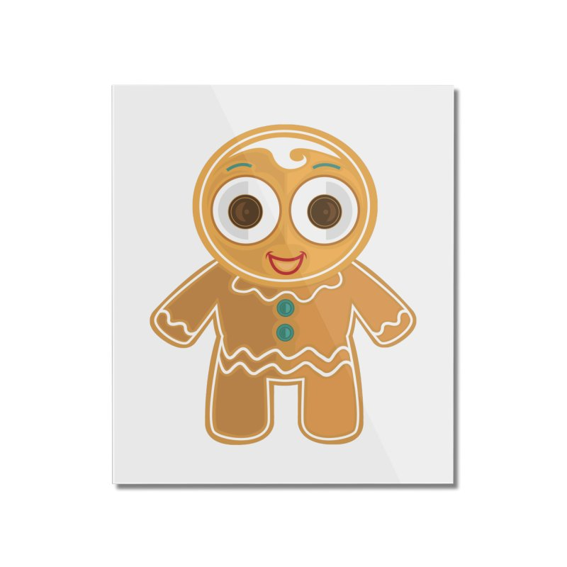 Ginger Bread Man Home Mounted Acrylic Print by adamzworld's Artist Shop