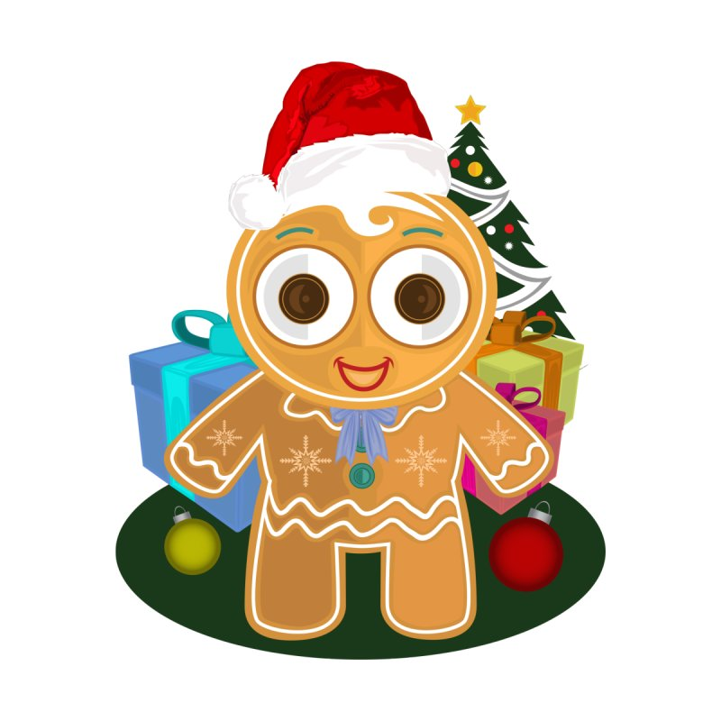Ginger Bread Man Christmas by adamzworld's Artist Shop