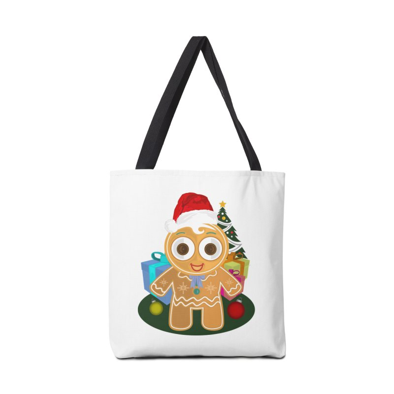 Ginger Bread Man Christmas Accessories Bag by adamzworld's Artist Shop