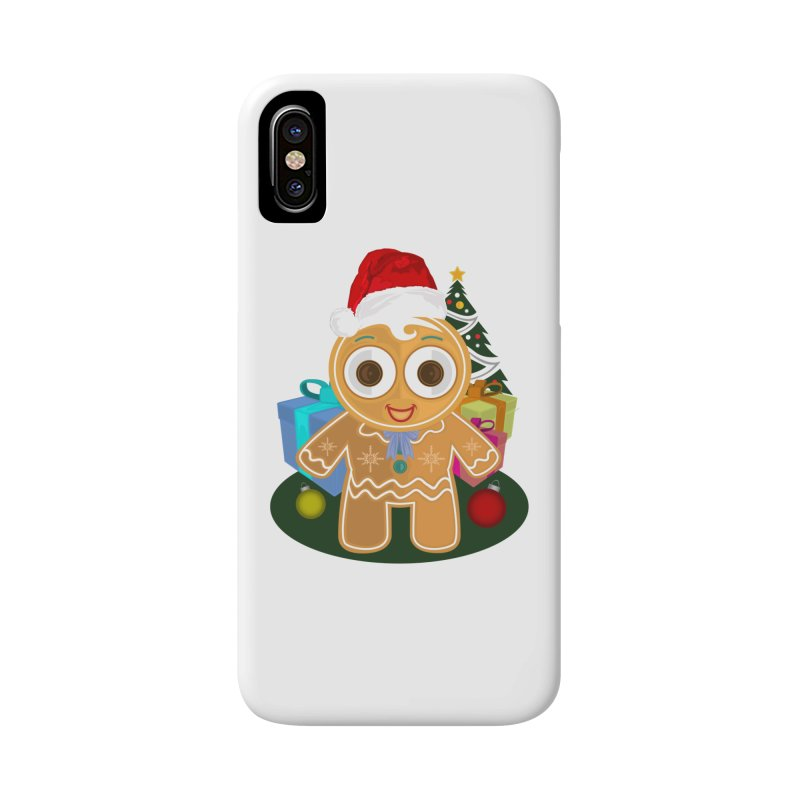 Ginger Bread Man Christmas Accessories Phone Case by adamzworld's Artist Shop