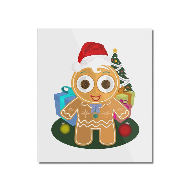 Ginger Bread Man Christmas Home Mounted Acrylic Print by adamzworld's Artist Shop