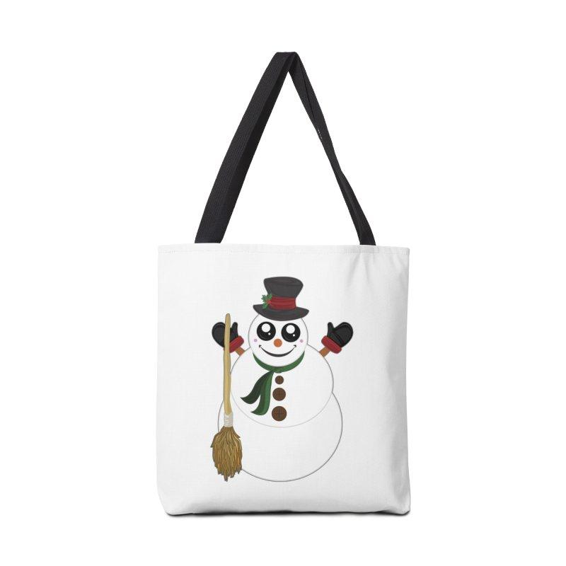 Snowman Accessories Bag by adamzworld's Artist Shop