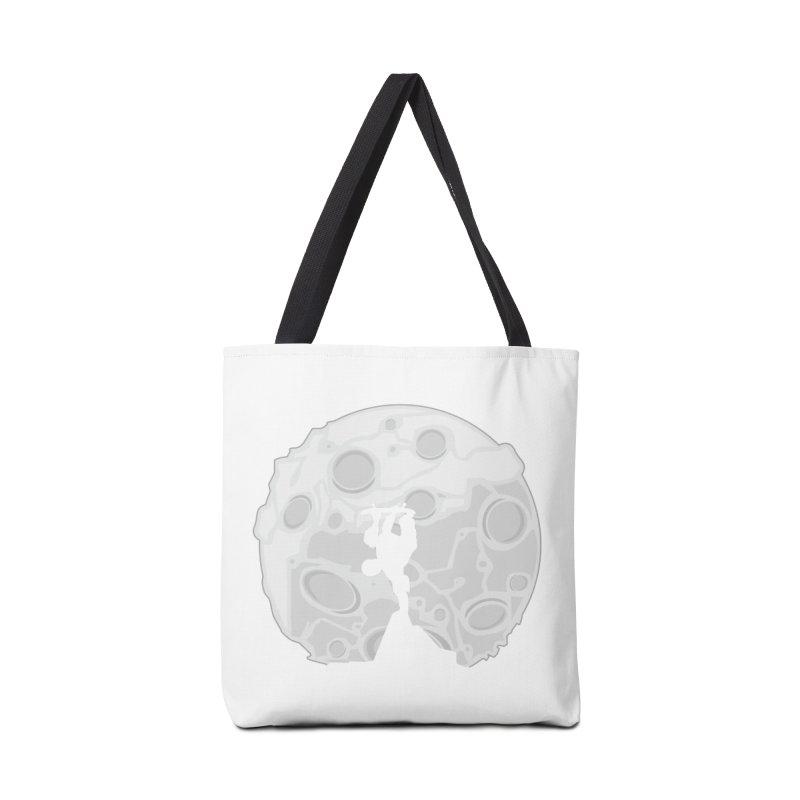 Skater Moon Accessories Bag by adamzworld's Artist Shop