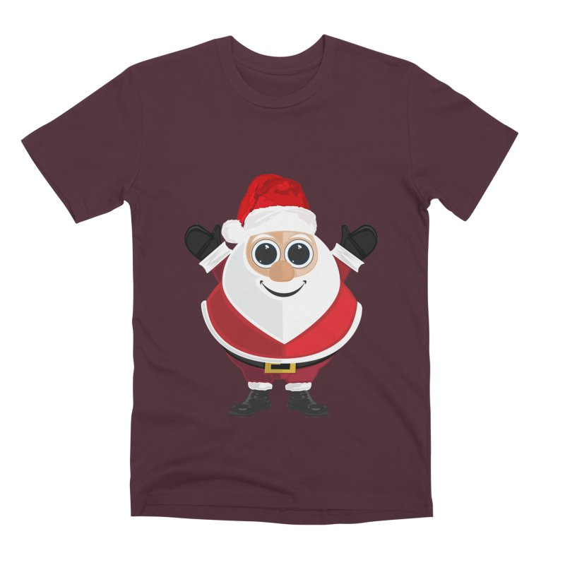 Santa Claus Men's Premium T-Shirt by adamzworld's Artist Shop