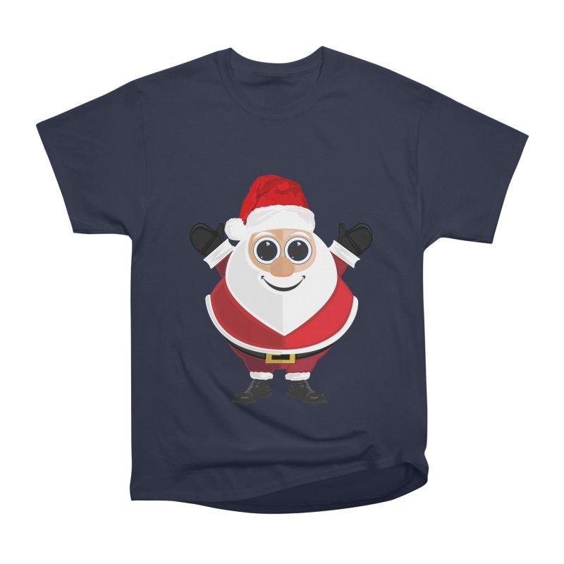 Santa Claus Men's Heavyweight T-Shirt by adamzworld's Artist Shop