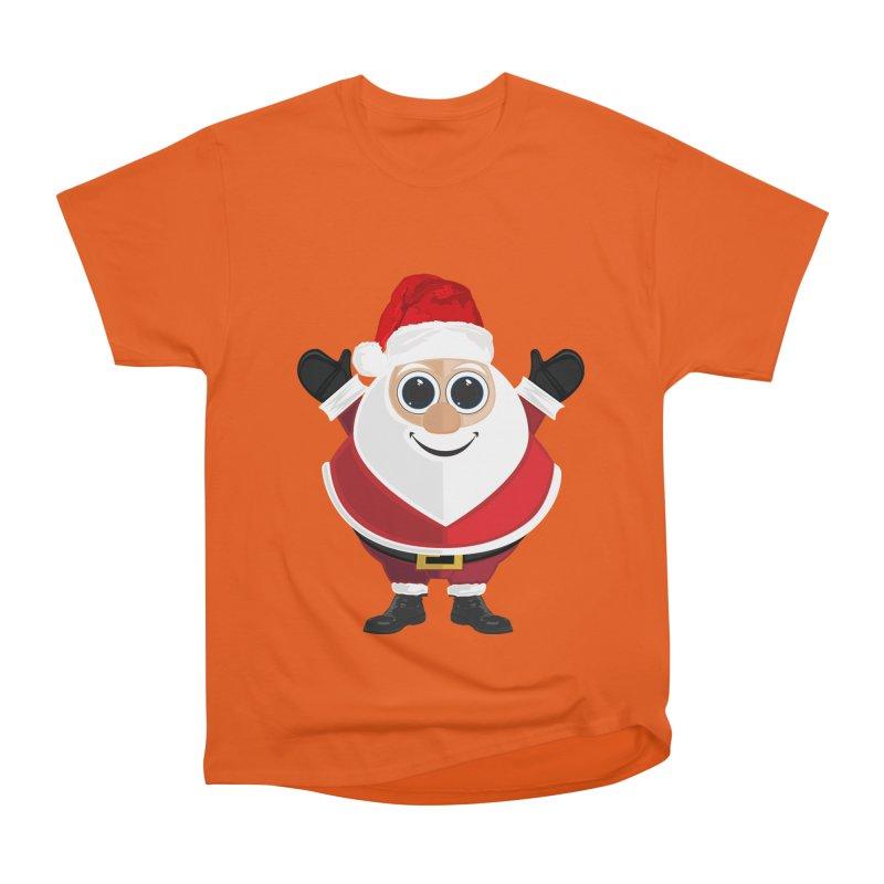 Santa Claus Women's Heavyweight Unisex T-Shirt by adamzworld's Artist Shop