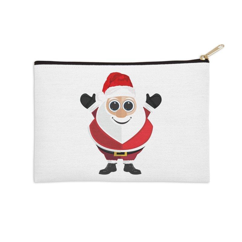Santa Claus Accessories Zip Pouch by adamzworld's Artist Shop
