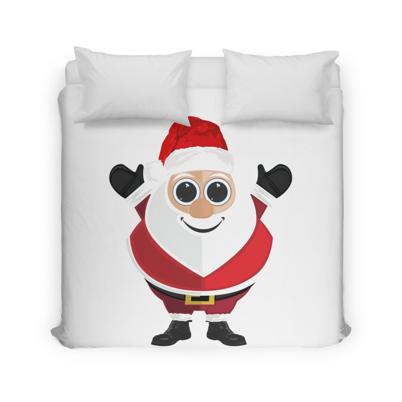 Santa Claus Home Duvet by adamzworld's Artist Shop
