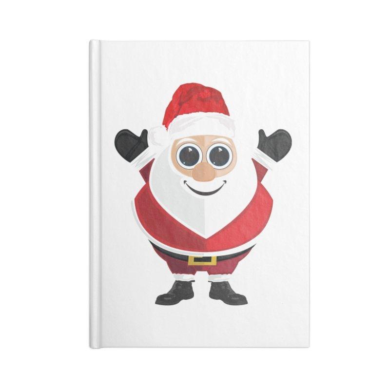 Santa Claus Accessories Notebook by adamzworld's Artist Shop