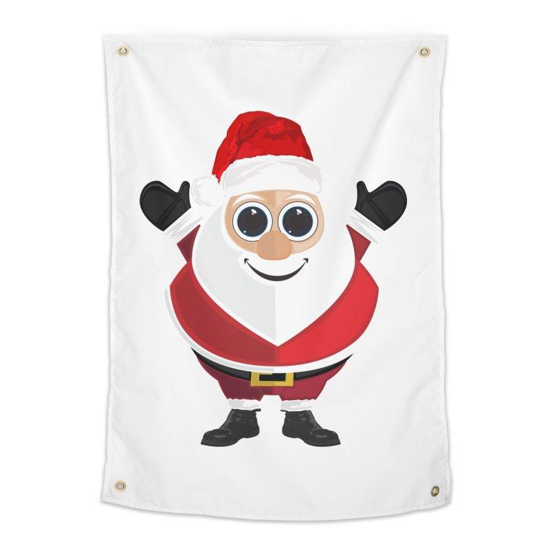 Santa Claus Home Tapestry by adamzworld's Artist Shop