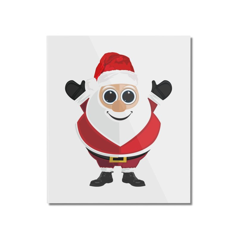 Santa Claus Home Mounted Acrylic Print by adamzworld's Artist Shop