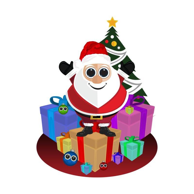 Santa Claus Christmas by adamzworld's Artist Shop