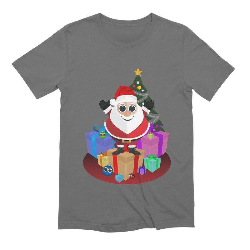 Santa Claus Christmas Men's T-Shirt by adamzworld's Artist Shop