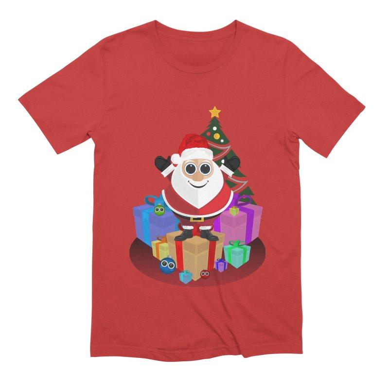 Santa Claus Christmas Men's Extra Soft T-Shirt by adamzworld's Artist Shop