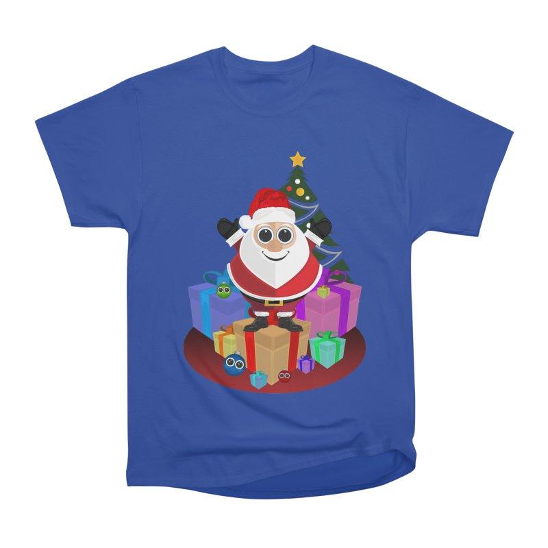 Santa Claus Christmas Men's Heavyweight T-Shirt by adamzworld's Artist Shop