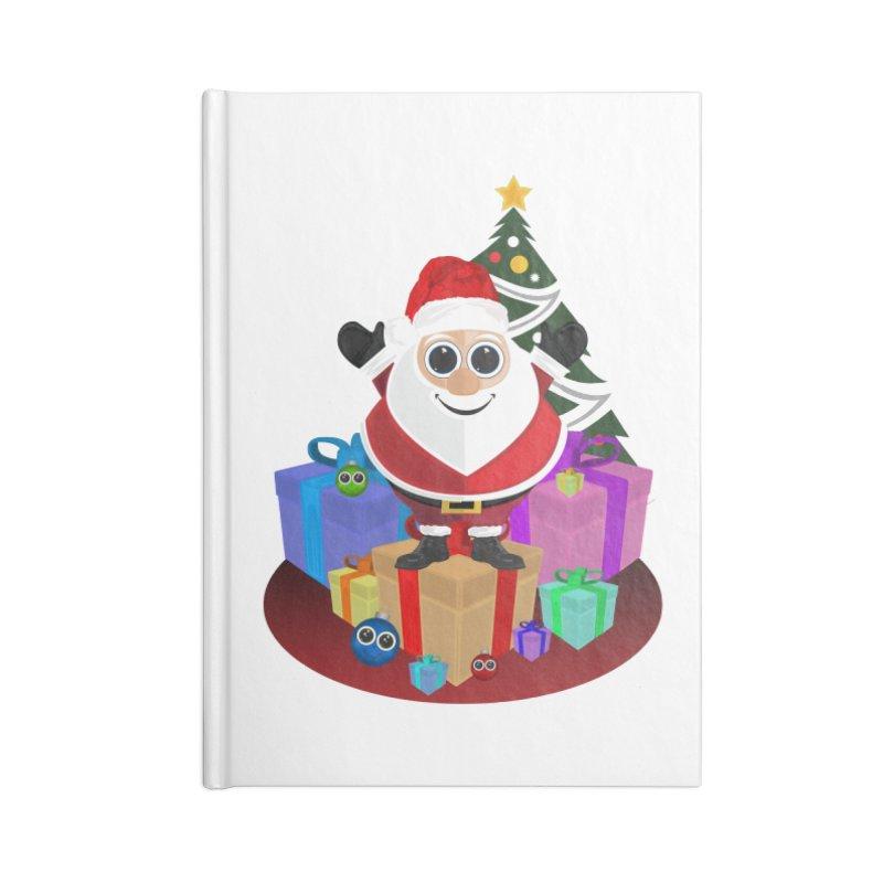 Santa Claus Christmas Accessories Notebook by adamzworld's Artist Shop