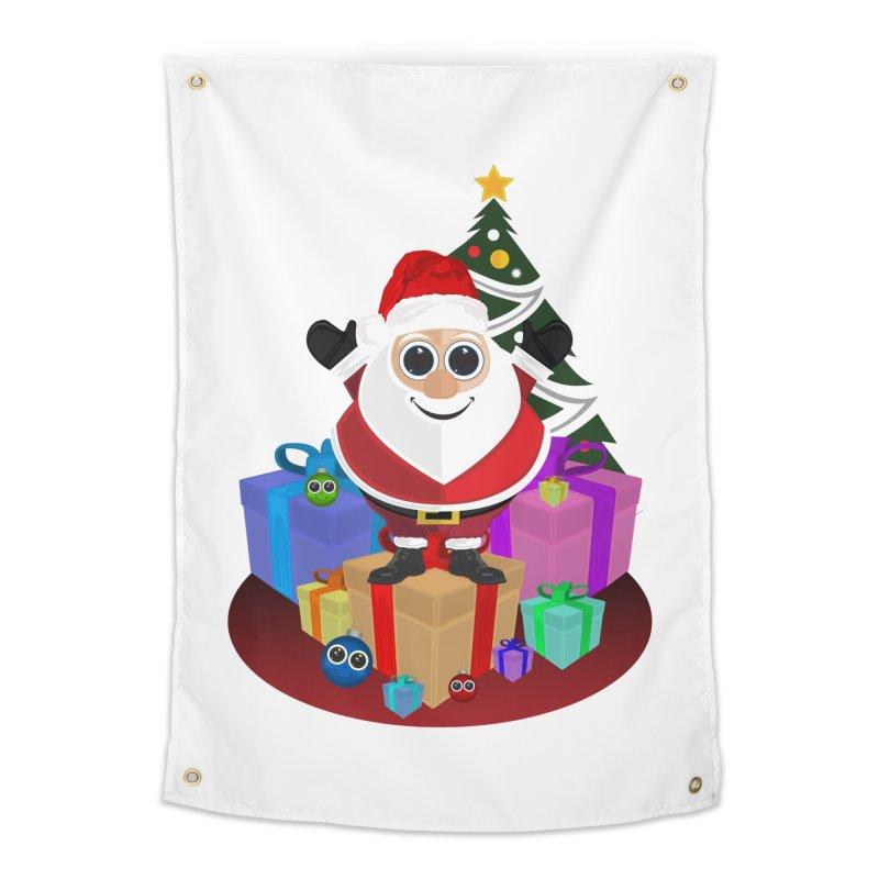 Santa Claus Christmas Home Tapestry by adamzworld's Artist Shop