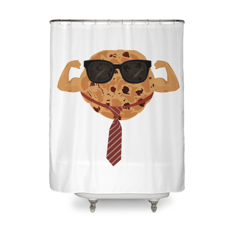 Tough Cookie Cool Home Shower Curtain by adamzworld's Artist Shop