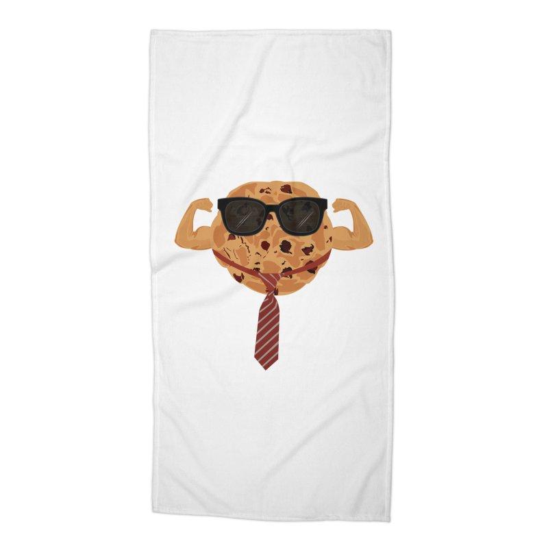 Tough Cookie Cool Accessories Beach Towel by adamzworld's Artist Shop