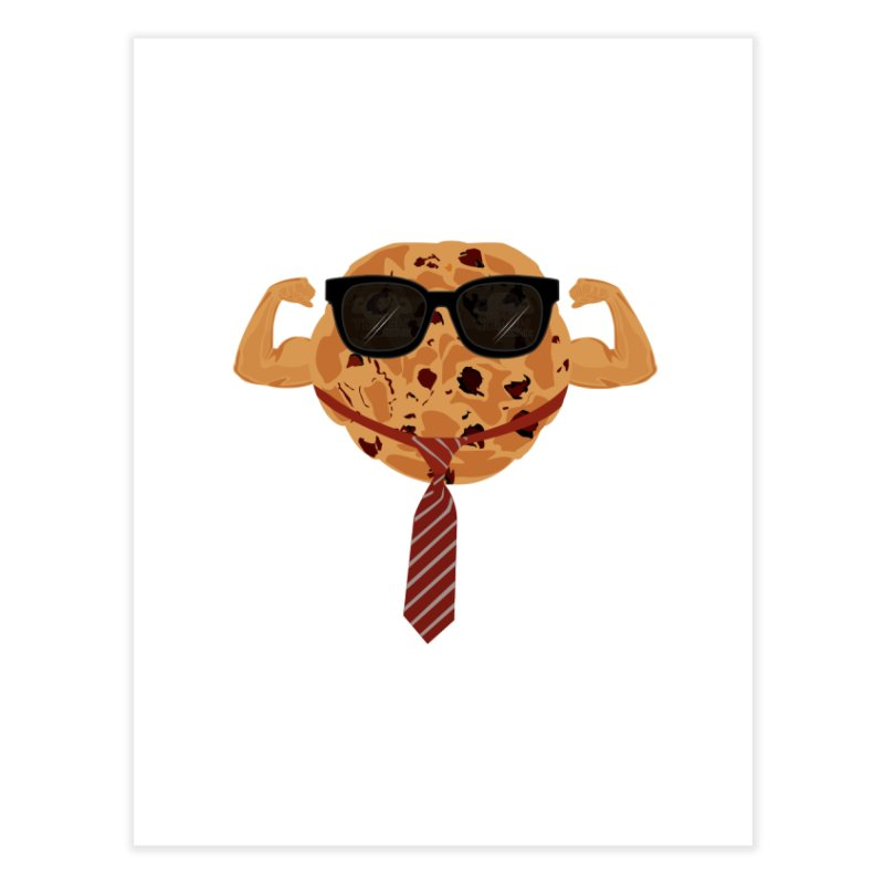Tough Cookie Cool Home Fine Art Print by adamzworld's Artist Shop