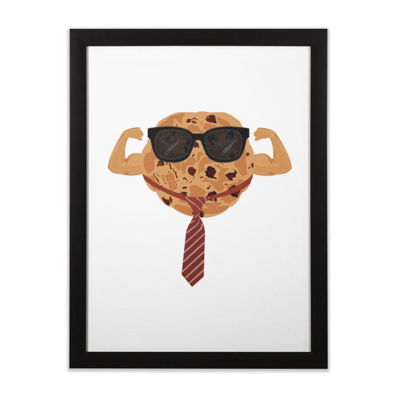 Tough Cookie Cool Home Framed Fine Art Print by adamzworld's Artist Shop