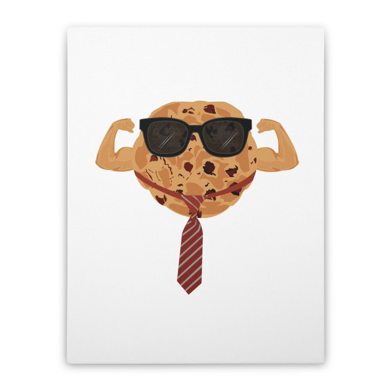 Tough Cookie Cool Home Stretched Canvas by adamzworld's Artist Shop