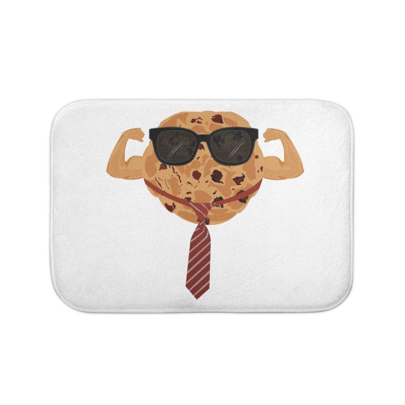 Tough Cookie Cool Home Bath Mat by adamzworld's Artist Shop