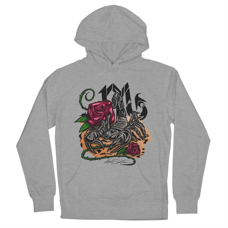 Scorpio - Zodiac Men's Pullover Hoody by adamzworld's Artist Shop