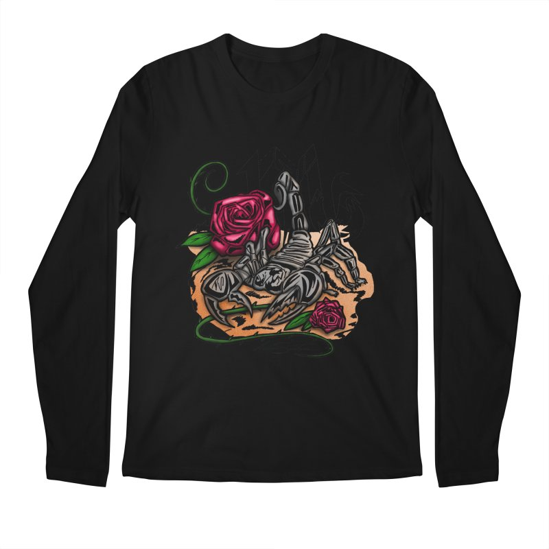 Scorpio - Zodiac Men's Longsleeve T-Shirt by adamzworld's Artist Shop