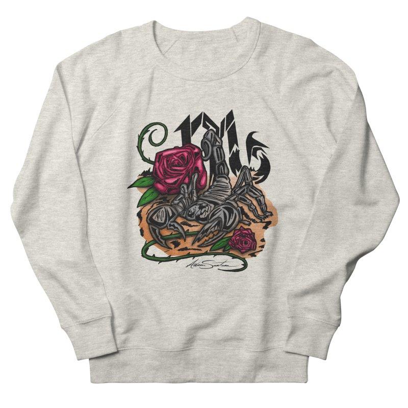 Scorpio - Zodiac Men's Sweatshirt by adamzworld's Artist Shop