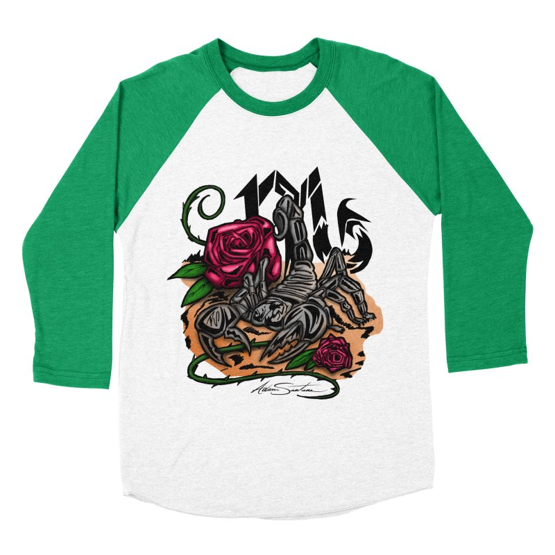 Scorpio - Zodiac Women's Baseball Triblend T-Shirt by adamzworld's Artist Shop