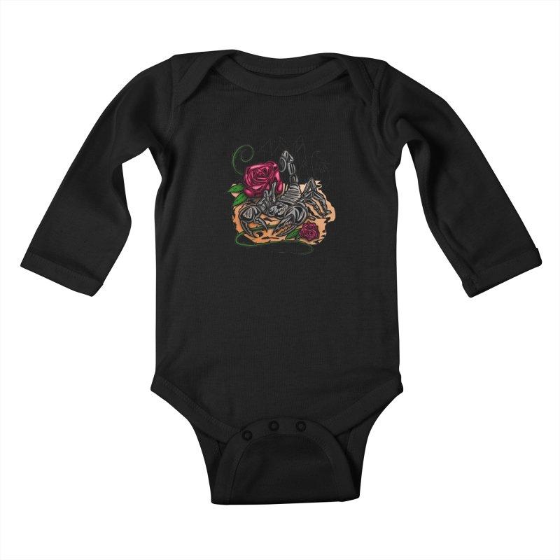 Scorpio - Zodiac Kids Baby Longsleeve Bodysuit by adamzworld's Artist Shop