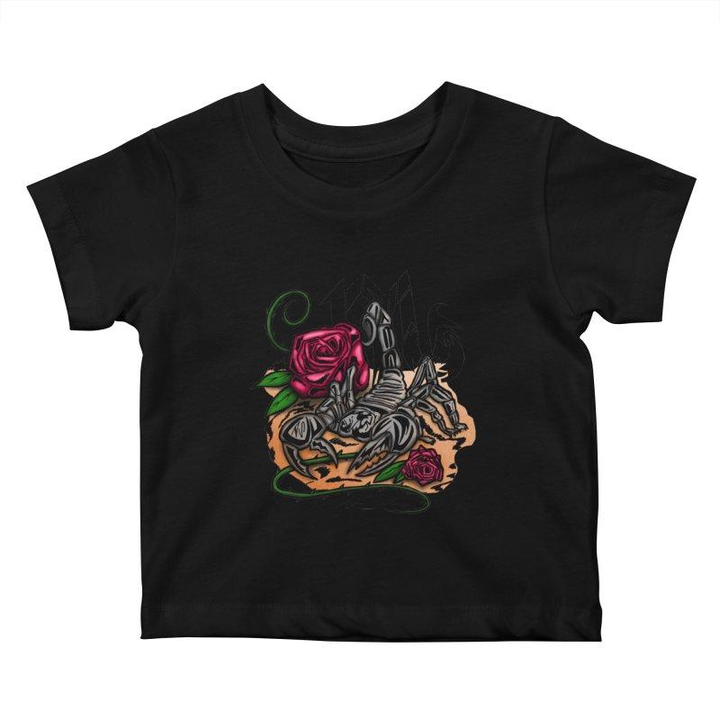 Scorpio - Zodiac Kids Baby T-Shirt by adamzworld's Artist Shop